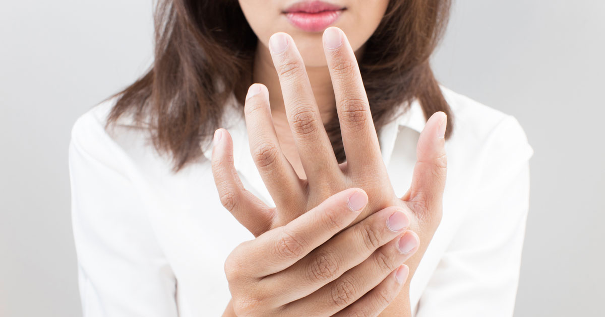What causes numbness in your fingers?